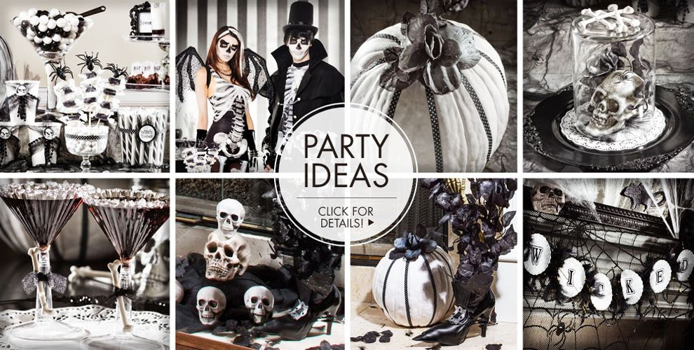 Skeletons and Skulls Party Supplies #3