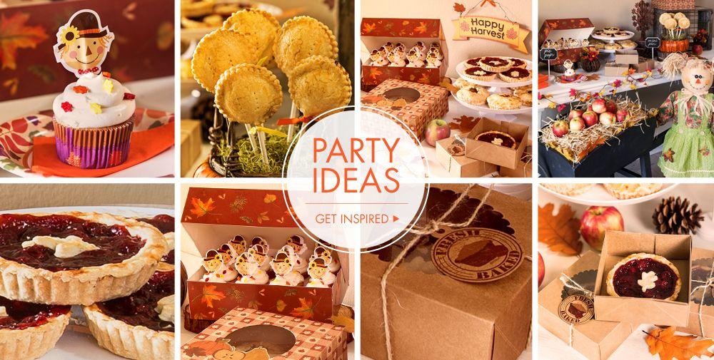 Thanksgiving Baking Supplies  Baking Pans, Baking Cups