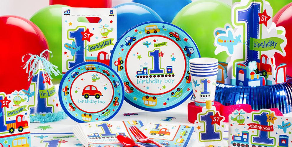 1st Birthday Party Supplies Less