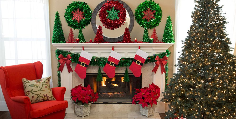Christmas Home Decor Indoor Christmas Decorations For The Home Party City