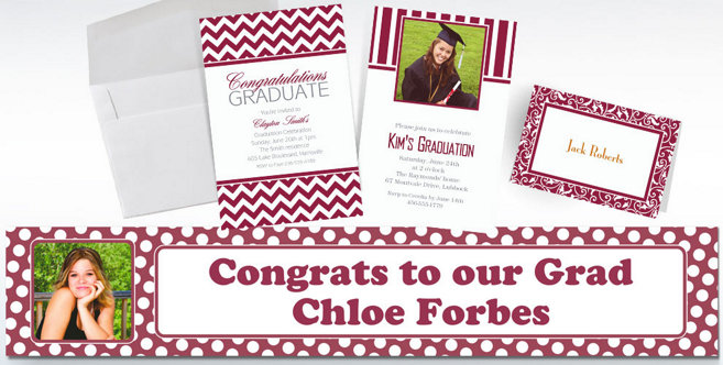 Berry Custom Invitations and Banners #1