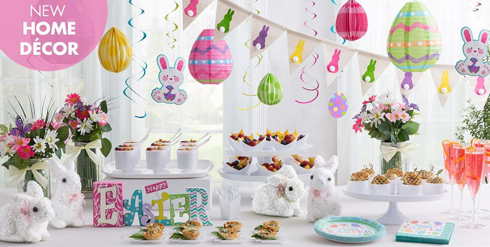 easter home decor   party city