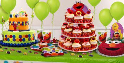 Sesame Street Cake Supplies Sesame Street Cupcake Cookie Ideas