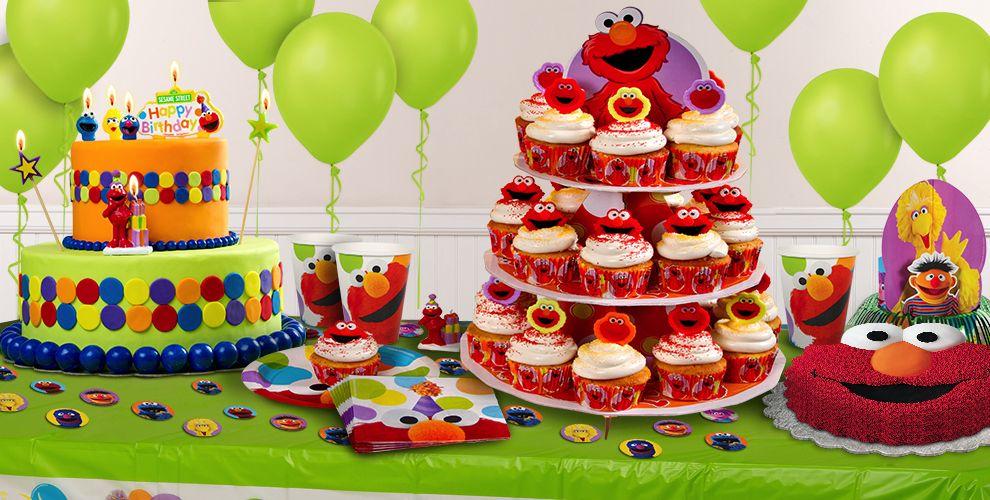 Sesame Street Cake Supplies