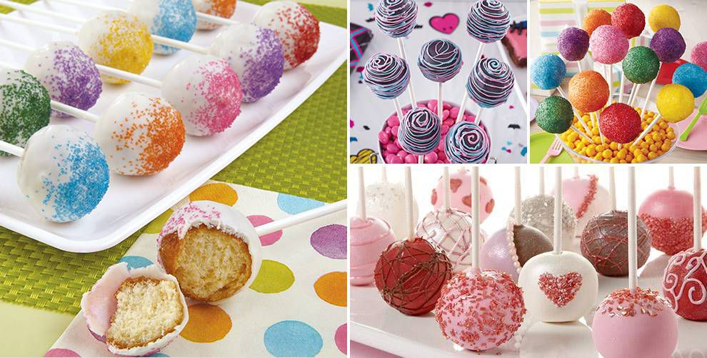 Cake Pop Decorating Made Easy : Cake Pop Supplies - Cake Pop Decorating Tools - Party City