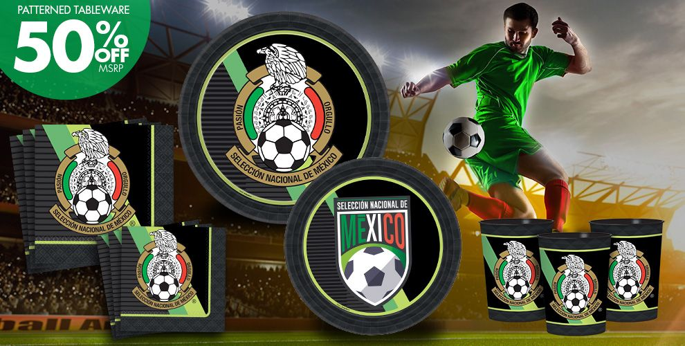 mexico national team party supplies