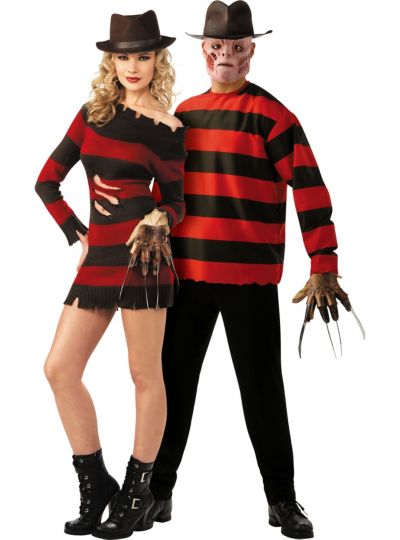 Nightmare on Elm Street Couples Costumes - Freddy Krueger