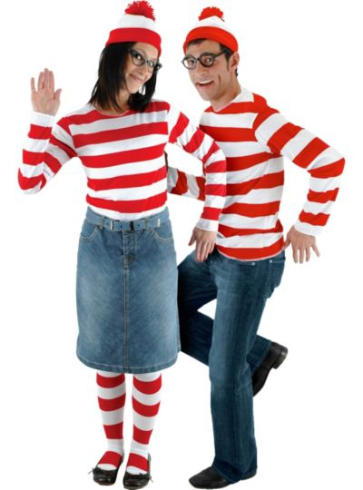 Wenda and Where's Waldo Couples Costumes