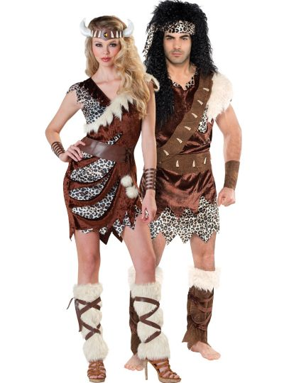 Neanderthal Couples Costumes