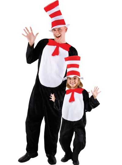 Classic Cat in the Hat Daddy and Me Costumes