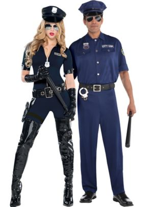 Sexy Cop Couples Costumes