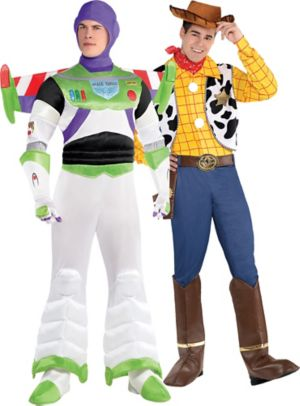 Adult Buzz Lightyear & Woody Couples Costumes - Toy Story