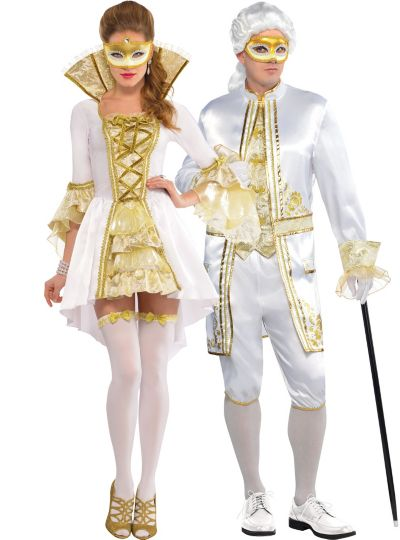 Venetian Couples Costumes