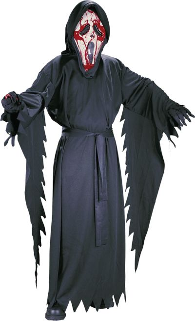 Boys Bleeding Ghost Face Costume - Scream