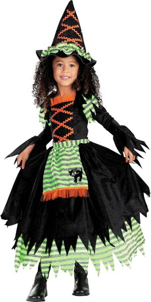 Toddler Girls Story Book Witch Costume
