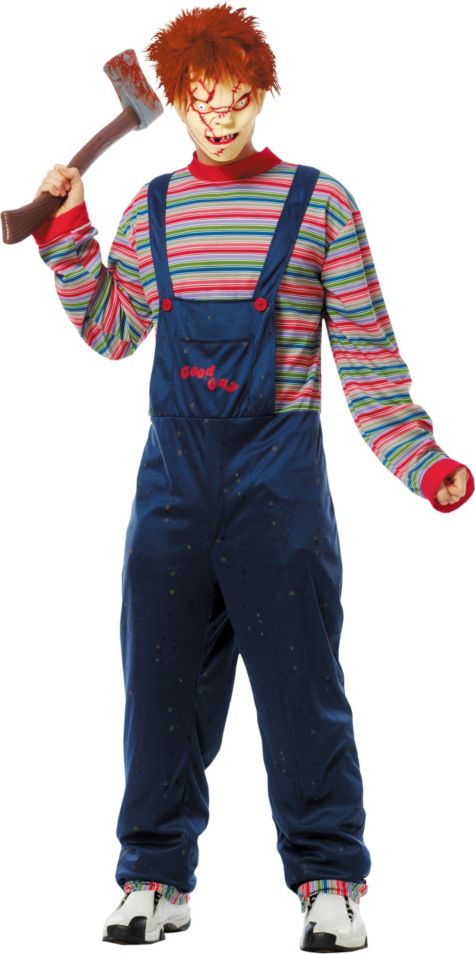 Chucky Halloween Costume For Adults Adult Chucky Costume