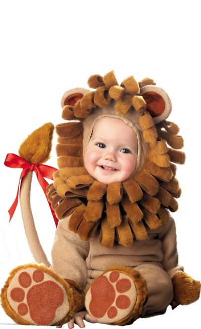 Baby Lil Lion Costume Deluxe
