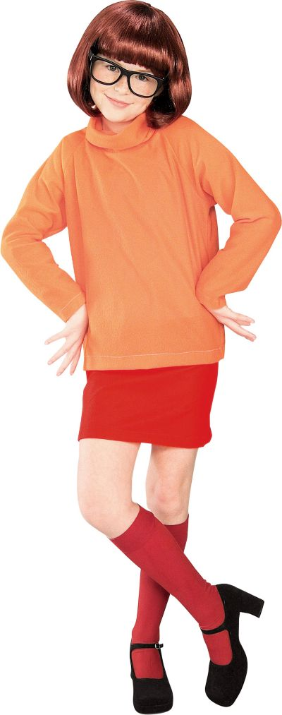 Girls Velma Costume - Scooby-Doo