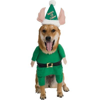 Santa's Lil Helper Dog Costume