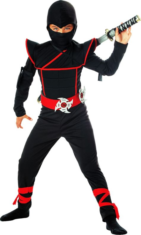 Kids Halloween Costumes Boys Boys Stealth Ninja Costume