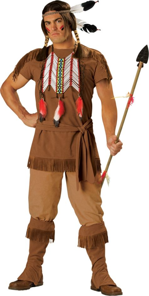 American Sheriff Costume Adult Native American Costume