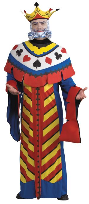 Adult Playing Card King Costume