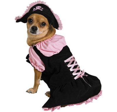 Pink Pirate Dog Costume