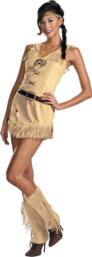Adult Sassy Tonto Costume - Lone Ranger