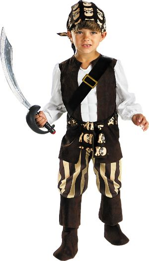 Toddler Boys Rogue Pirate Costume