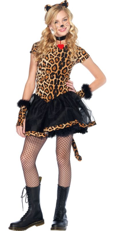 Teen Girls Wicked Wildcat Costume