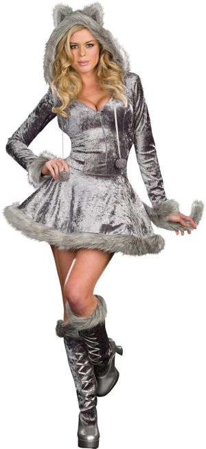 Adult Big Bad Sexy Wolf Costume
