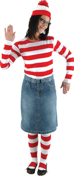 Adult Wenda Costume - Where's Waldo?