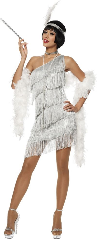 Adult Dazzling Flapper Costume