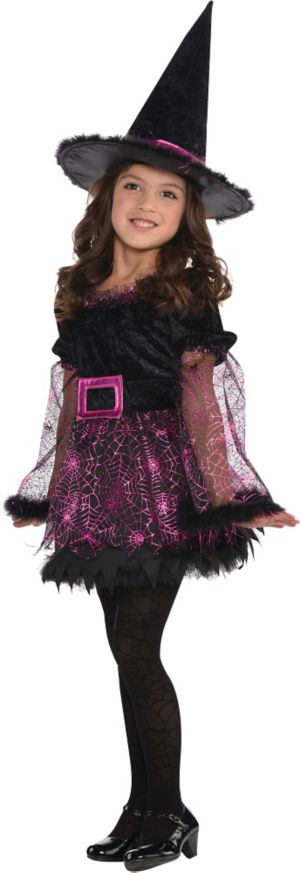 Little Girls Darling Witch Costume