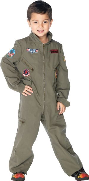 Boys Flight Suit Costume - Top Gun
