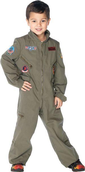 Boys Flight Suit Costume - Top Gun