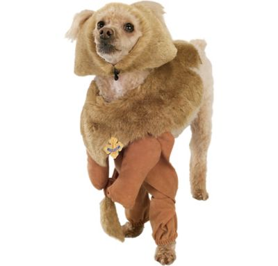 Wizard of Oz Cowardly Lion Dog Costume
