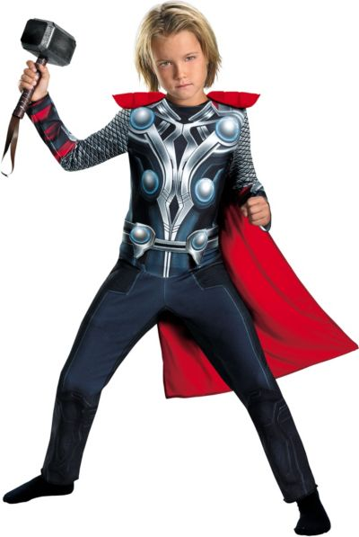 Boys Thor Costume - The Avengers