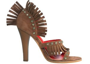 Fringed Western Shoes