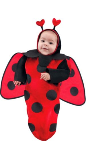 Baby Bunting Cutie Ladybug Costume