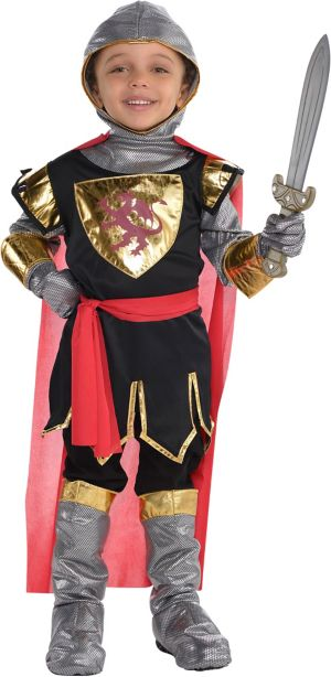 Little Boys Brave Crusader Costume