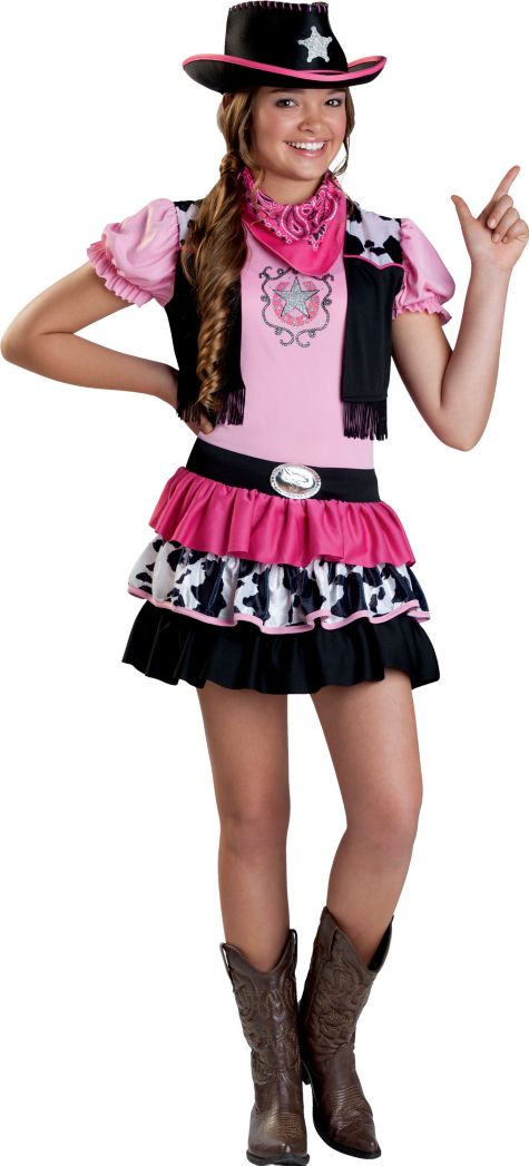 Girl Cowboy Costume Girls Giddy up Cowgirl Costume
