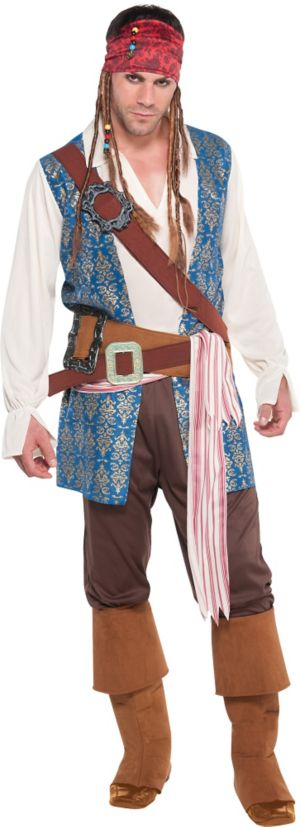 Jack Sparrow Pirate Costume Adult