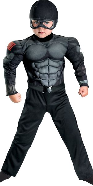 Toddler Boys Snake Eyes Muscle Costume - G.I. Joe