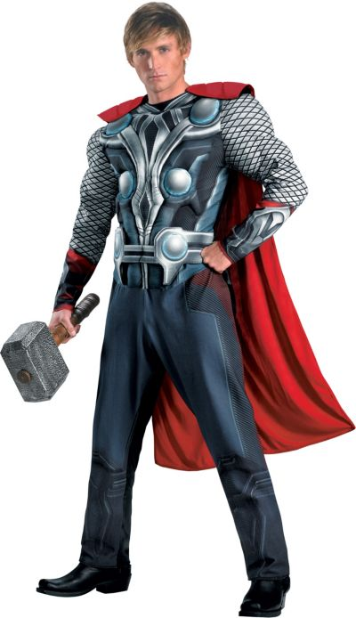 Adult Classic Thor Muscle Costume - The Avengers