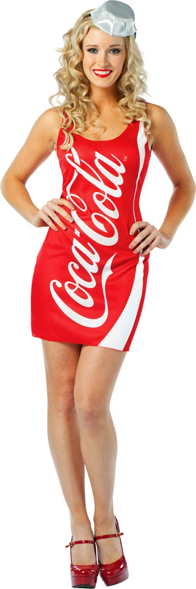 Adult Sexy Coca-Cola Bottle Costume