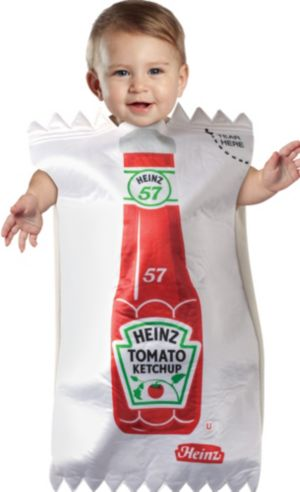 Baby Bunting Heinz Ketchup Packet Costume