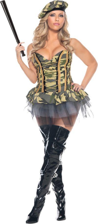 Adult Commando Costume Plus Size