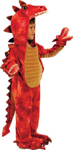 Baby Hydra 3-Headed Dragon Costume Deluxe