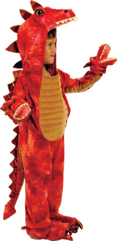 Baby Hydra 3-Headed Dragon Costume Deluxe